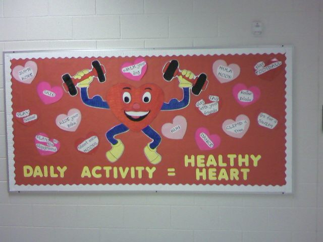 Daily Activity = Healthy Heart Image