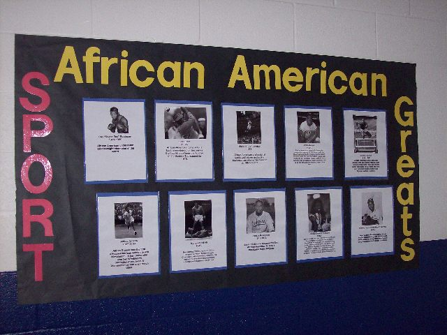 African American Sport Greats Image