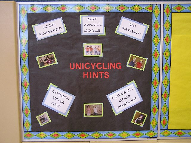 Unicycling Hints Image