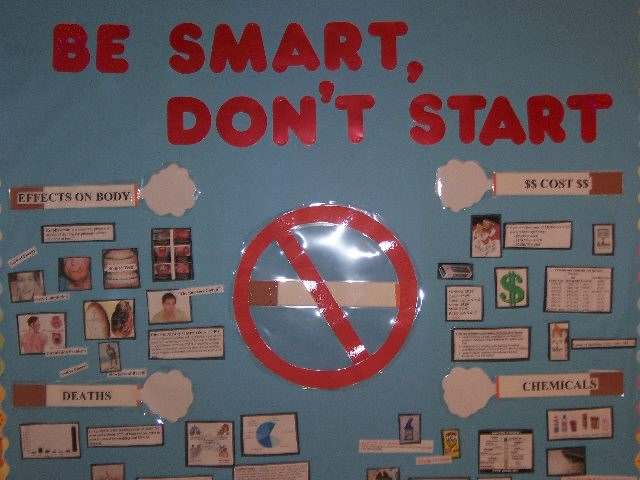 Be Smart, Don't Start Image
