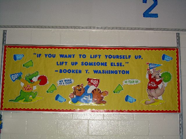 inspirational quote bulletin board ideas