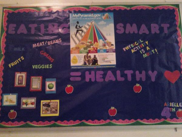 Eating Smart= A Healthy Heart Image