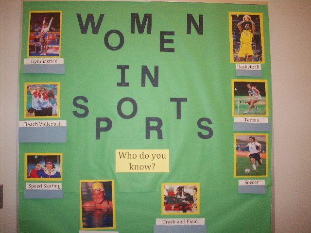 Women in Sports Image