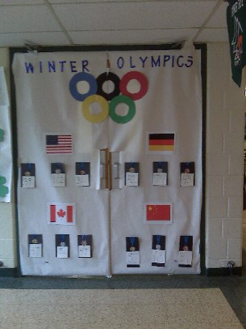 Winter Olympics Doorway Image