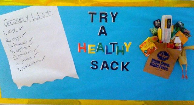 Try A Healthy SACK! Image