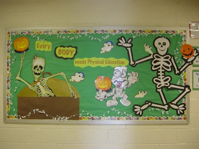 Every Body needs Physical Education (Halloween) Image