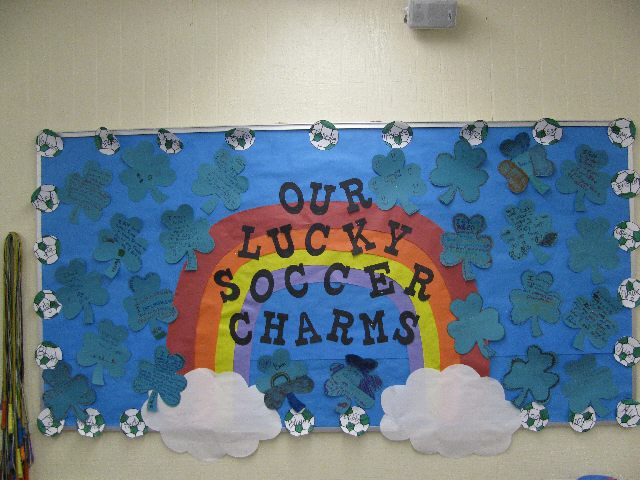 Our Lucky Soccer Charms (St. Patrick's Day) Image
