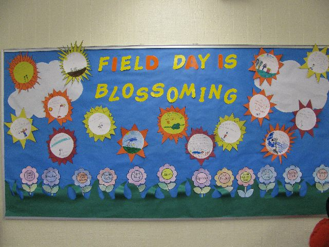 field day is blossoming! Image