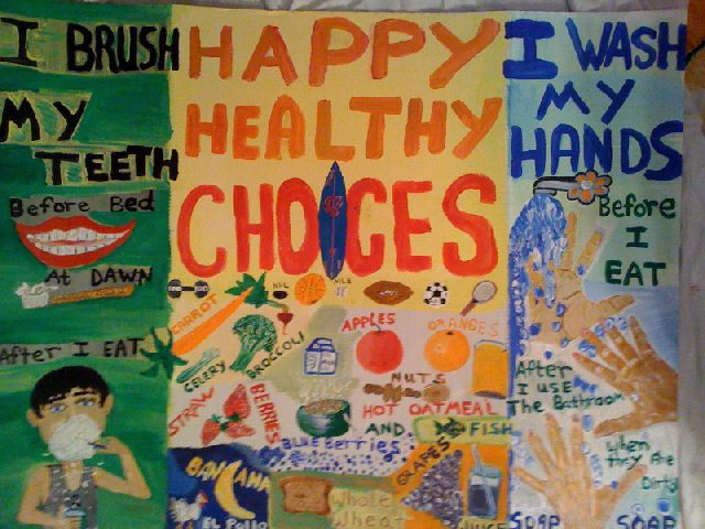 Happy Healthy Choices Image