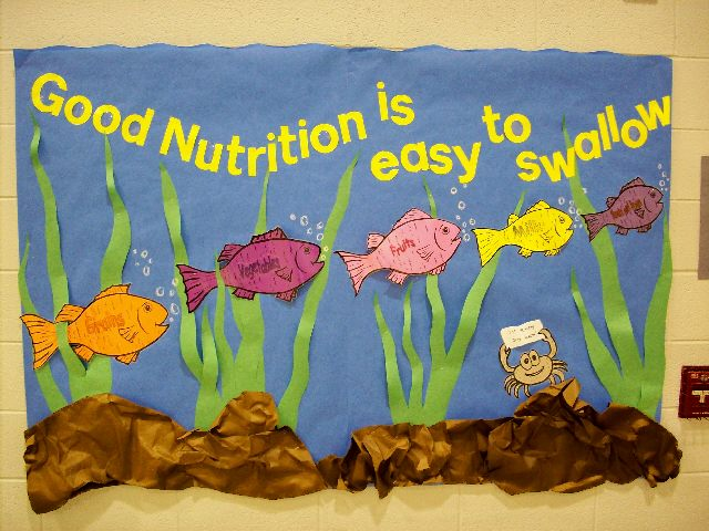Classroom Bulletin Board Ideas Nutrition Month ~ Pec bulletin boards for physical education