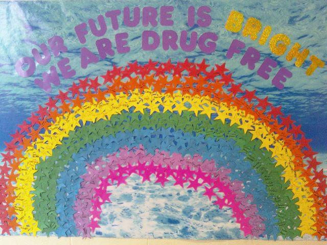 Our Future Is Bright ... We Are Drug Free Image