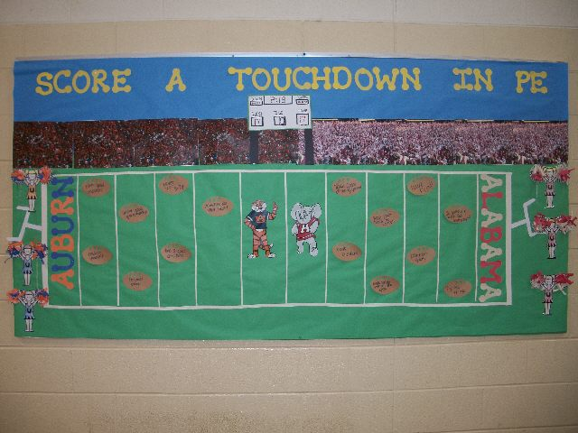 Score a Touchdown in PE Image