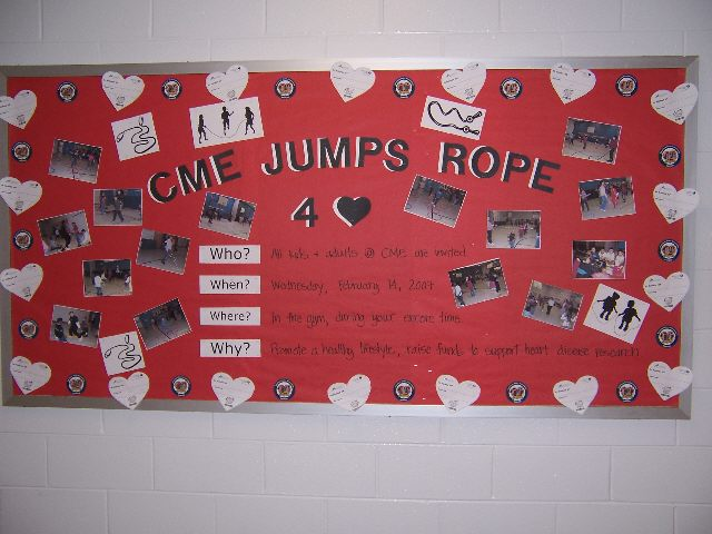 CME Jumps Rope for Heart Image