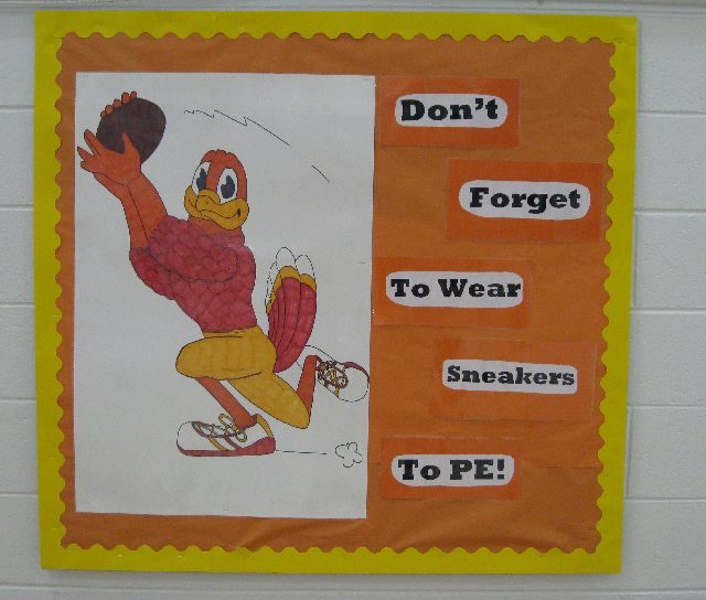Don't Forget to Wear Your Sneakers to PE! Image