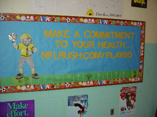 pec bulletin boards for physical education. Black Bedroom Furniture Sets. Home Design Ideas