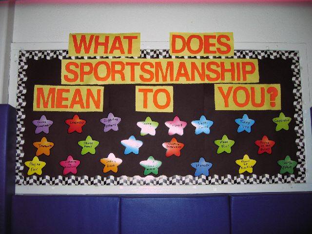 What Does Sportsmanship Mean To You? Image