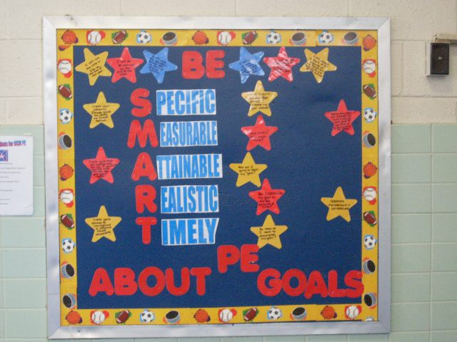 Be SMART About PE Goals Image