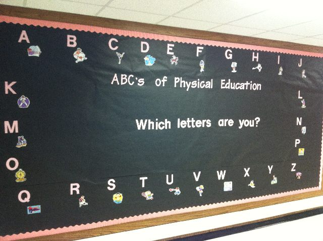 ABC's of Physical Education Image