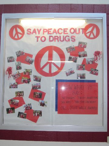 Say Peace out to Drugs Image