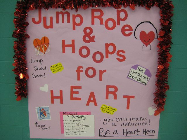 Jump Rope and Hoop for Heart Image
