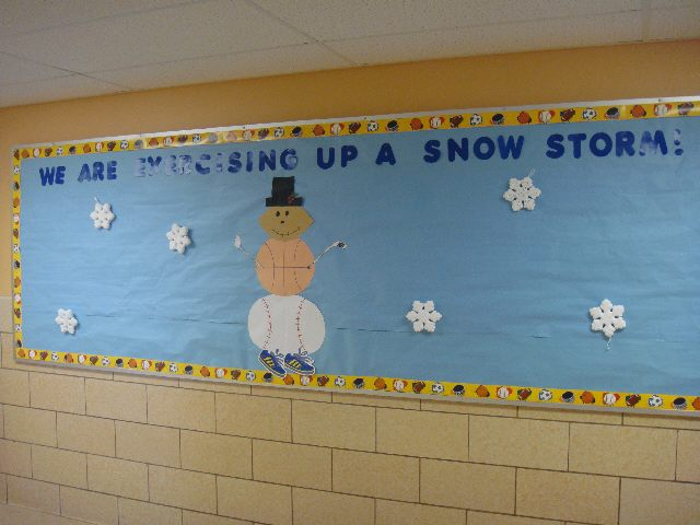 Exercise Up A Snow Storm! Image