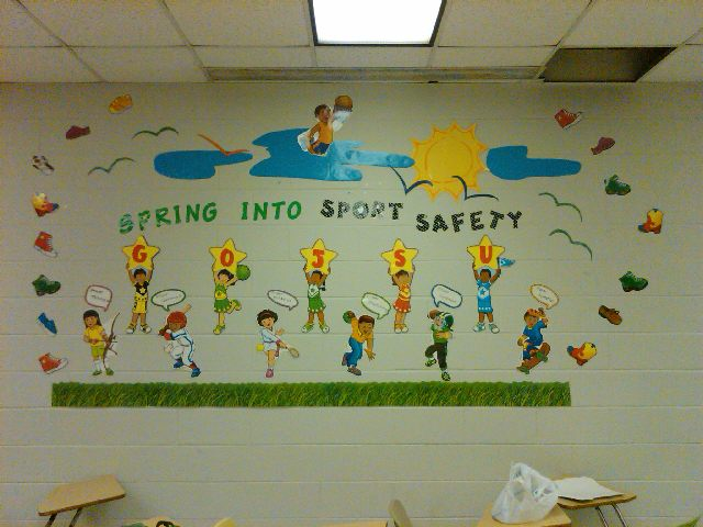 Spring into Sport Safety Image