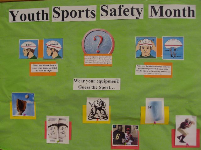 Youth Sports Safety Month Image