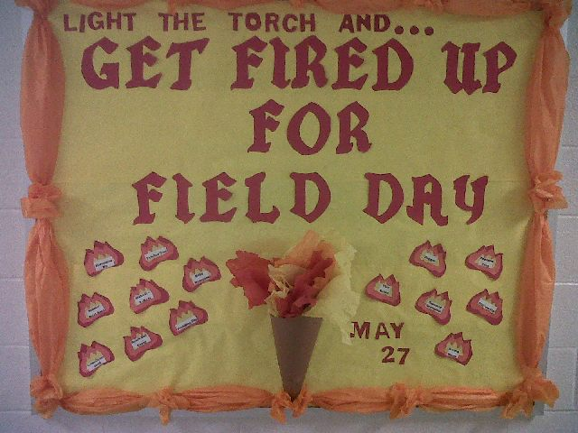 Fired Up For Field Day! Image