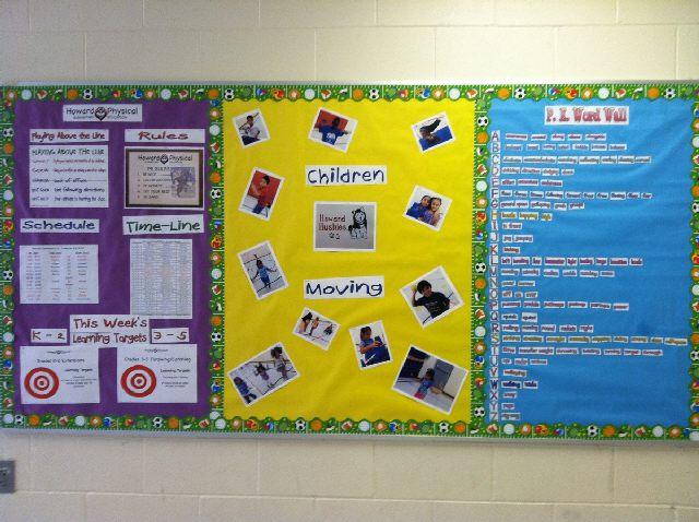 Classroom Pe Ideas ~ Pec bulletin boards for physical education