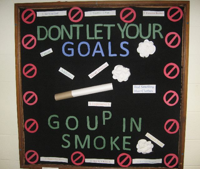 Don't Let Your Goals Go Up in Smoke Image