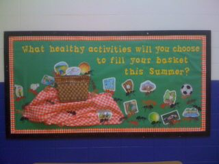 End of School Bulletin Board Image