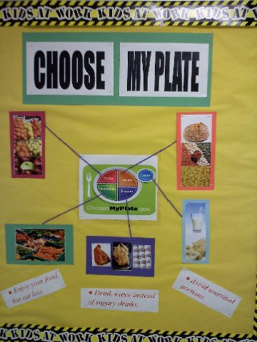 My PLATE for Good Nutrition Image