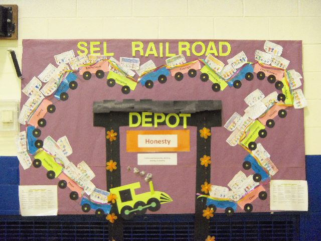 Social Emotional Learning Railroad Image