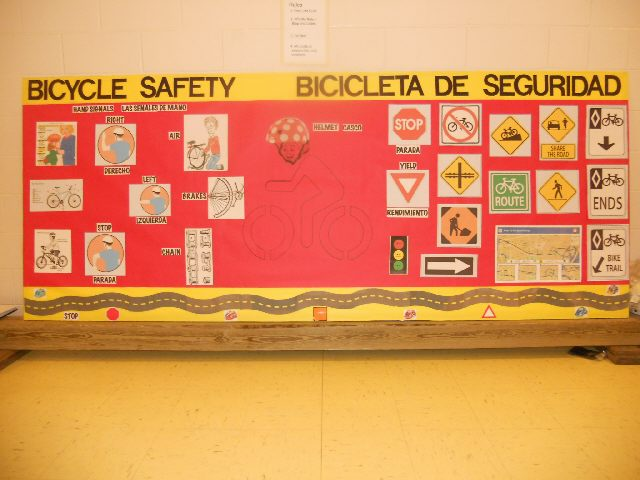 Bicycle Safety - Bicicleta de Seguridad Image