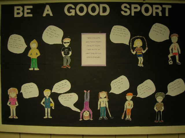 Be A Good Sport Image