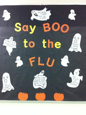 Say BOO to the FLU Image