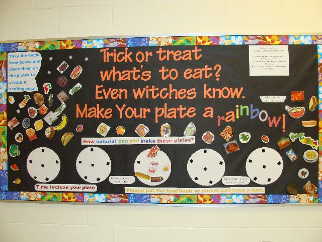 Halloween Nutritional Bulletin Board Image