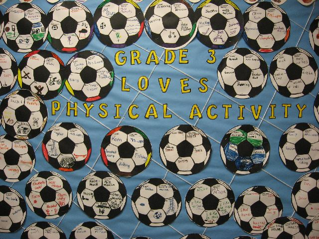 Grade 3 loves physical activity Image