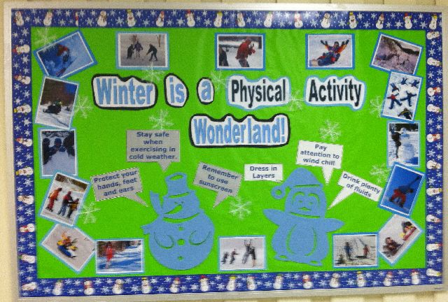 Winter is a Physical Activity Wonderland Image