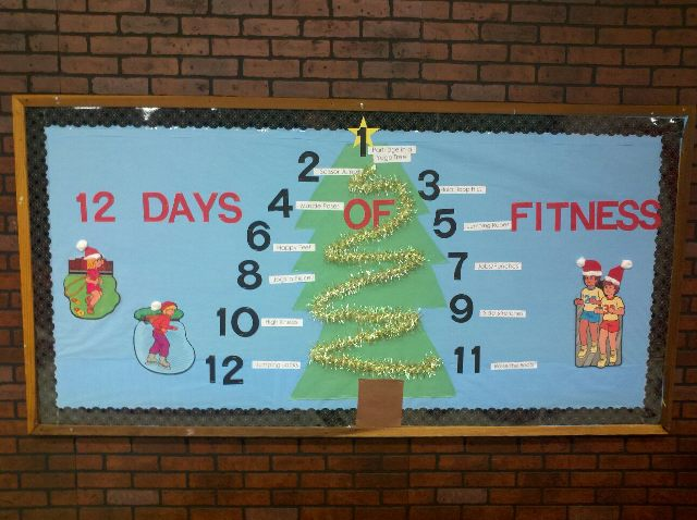12 Days Of Fitness Christmas Image