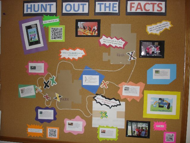 Hunt Out The Facts (Cell Phone Technology in PE) Image