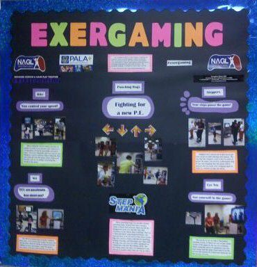 Exergaming Bulletin Board Image
