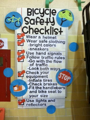 Bicycle Safety Checklist Image