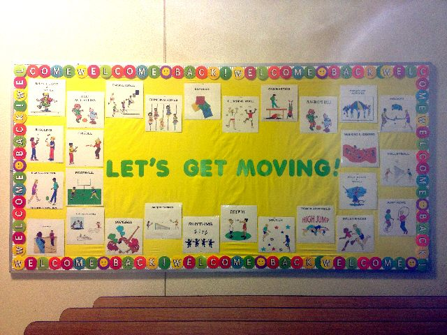 Welcome Back! Let's Get Moving! Image