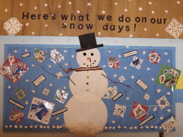 Here's what we do on our snow days!! Image