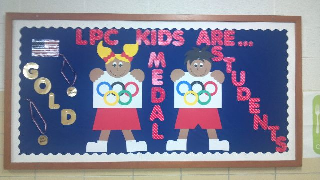 Gold Medal Students (Olympic theme) Image