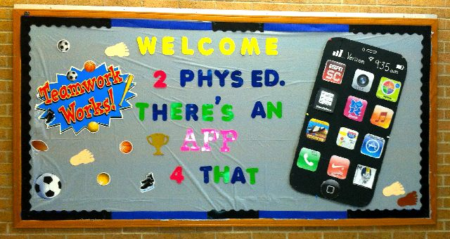 Welcome To PE...There's an APP for That Image