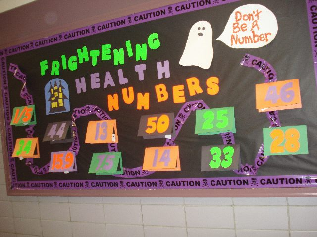 Frightening Numbers of Health (Halloween) Image
