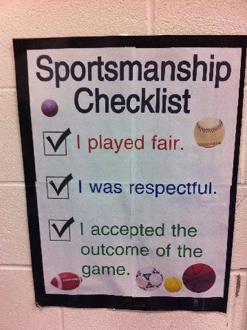 Quotes about sportsmanship?