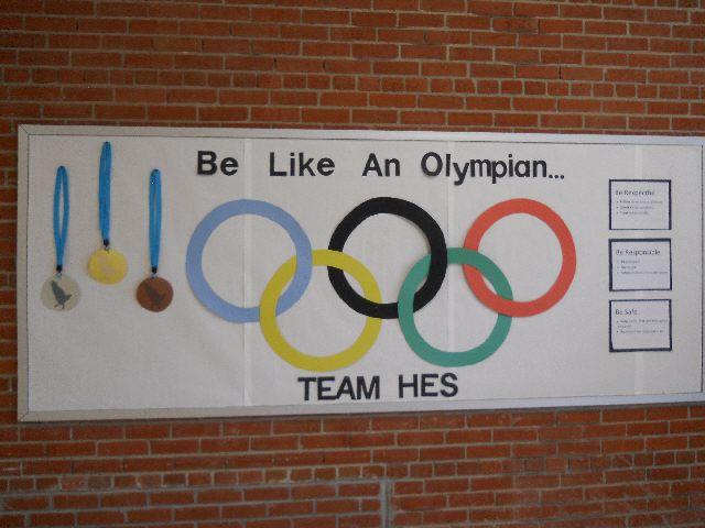 delightful Olympic Bulletin Board Ideas Part - 7: Be Like An Olympian Image